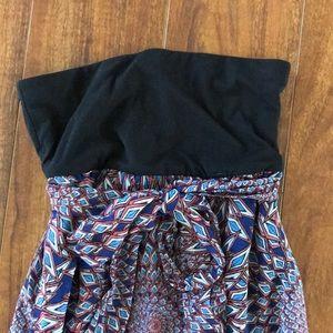 Xhilaration geometric multi maxi dress